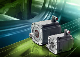 High-Inertia Servomotors provide stall torque from 3-20 Nm.