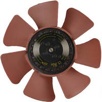 Compact, Motorized Axial Fans operate free from vibration.