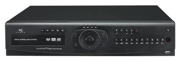 Digital Video Recorder expands storage via H.264 compression.