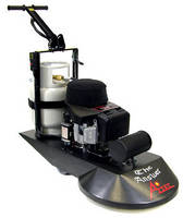 High-Speed Floor Burnisher is powered by propane engine.
