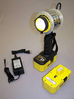 Cordless LED Work Light features intrinsically safe design.