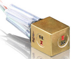 Triaxial Isotron Accelerometer comes in compact package.