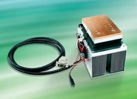 Laser Diode Mount includes internal cooling system.