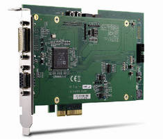 PCIe Frame Grabber provides 1,920 x 1,080 p resolution at 60 fps.