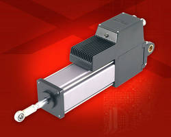 Industrial Linear and Rotary Actuators support Ethernet/IP.