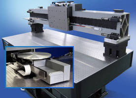 Single-Axis Air Bearing Stages combine performance, modularity.