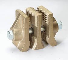 Bronze Belt Splice features non-sparking design.