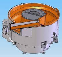 Spiral-Bottom Round Bowl Machine has 24 cubic foot tub.