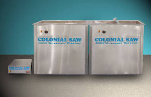 Ultrasonic Cleaning System cleans tools without wire brush.