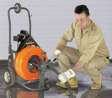 Drain Cleaning Machine blends features for durability, usage.
