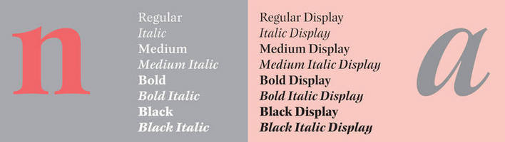 OpenType Font blends precision, legibility, and personality.