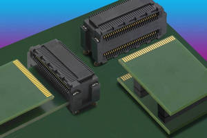 Dual Stack Edge Card System connects PCBs with standard spacing.