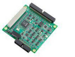 Multifunction PCI-104 DAQ Module offers high sampling rate.