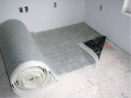 Sound Control Mat decreases inter-floor noise in buildings.