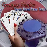 Granger Plastics Deals a Royal Flush with the Lucky Seven Sided Poker Table