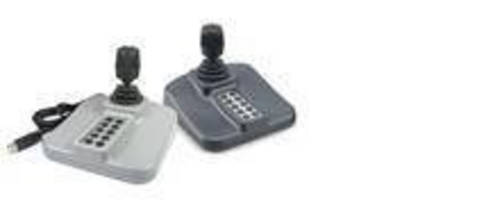 All-in-One CCTV Joystick offers USB plug-and-play installation.