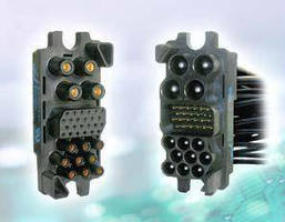 Blind Mating Connectors support 35 or 75 A applications.