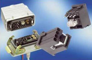 Modular RJ45 Connector accommodates 5 additional components.