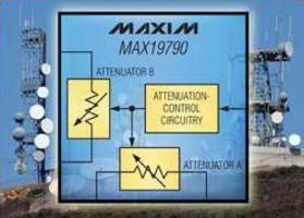 Voltage-Variable Attenuator spans 250-4,000 MHz range.