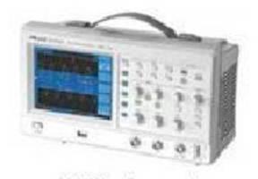 Digital Oscilloscope features automatic parameter measurement.