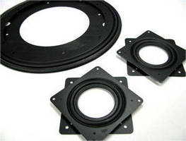 Black Lazy Susan Bearings compliment display aesthetics.
