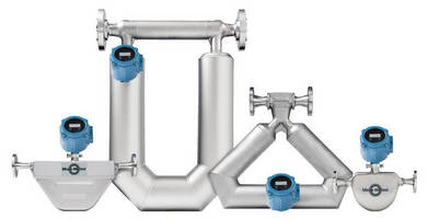 Coriolis Mass Flowmeter is offered with loop powered transmitter.