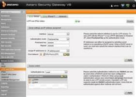 Network Security Gateway accommodates SMBs and large enterprises.