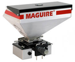 Gravimetric Feeder delivers material at up to 80 lb/hr.