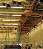 Modular Light Crane System offers diverse configuration options.