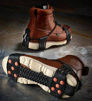 Boot Accessory increases traction on slippery surfaces.