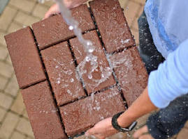 Permeable Pavers help minimize stormwater runoff.