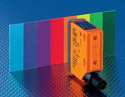Color Sensor targets industrial automation applications.