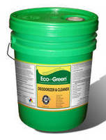 Green Cleaning Solution cleans and deodorizes.