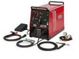 Compact TIG and Stick Welder features wide amperage range.
