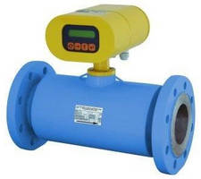 Ultrasonic AC-Powered Flowmeter has integral/remote display.