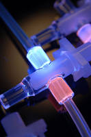 Medical Device Adhesive cures in seconds with UV light.