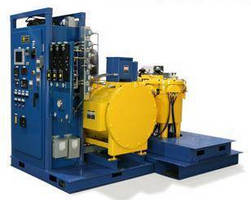 Vertical Top-Loading Vacuum Furnace is suited for R/D work.