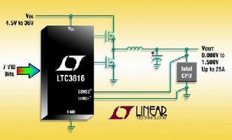 Single-Phase DC/DC Controller implements IMVP technology.