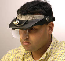 Illuminated Headband Magnifier Merges Convenience and Precision