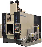 Vertical Machining Center offers traverse rate of 1,890 ipm.