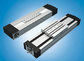 Linear Modules help build small handling systems.