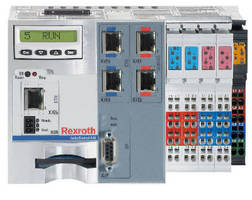 High-Performance MLC Version 10 Motion Logic and Robotics Controller with Flex Profile from Bosch Rexroth