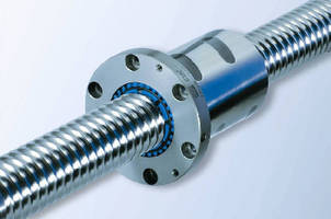 Ball Screw is compatible with JIS standard.