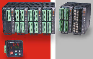 Multi-loop Controllers integrate temperature, process, limit, power.
