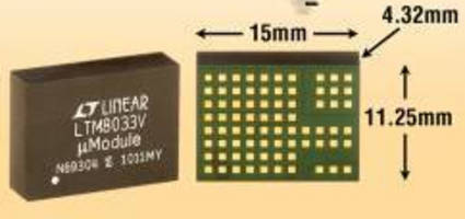 Low-Noise DC/DC Regulator operates from 3.6-36 V.