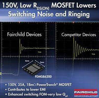 N-Channel MOSFET targets isolated DC-DC applications.