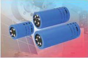 Snap-in Aluminum Power Capacitors are rated up to 450 V.