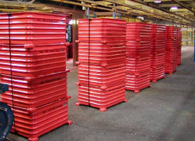 Round Corner Corrugated Containers
