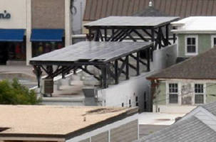 Creative Pultrusions, Inc., Supplies Pultruded SuperStructural Profiles to Support Solar Panels