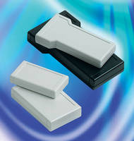 Sealed, IP65-Rated Handheld Enclosures can be used outdoors.